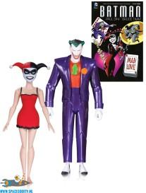Batman The Animated Series Mad Love actiefiguren 2-pack
