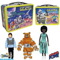 Battlestar Galactica tin tote giftset including 3 8 inch scale action figures