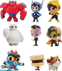 Big Hero 6 blind box chibi mini figuur