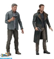 Blade Runner 2049 actiefiguren Deckard & Officer K