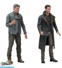 Blade Runner 2049 actiefiguren Deckard & Officer K