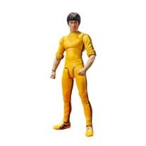 Bruce Lee S.H.Figuarts yellow track suit actiefiguur