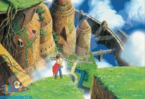 Castle in the Sky (van Studio Ghibli) jigsaw puzzle no 300-419