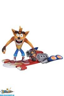 Crash Bandicoot deluxe actiefiguur met jet board