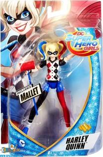 DC Comics Super Hero Girls actiefiguur Harley Quinn