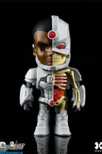 DC Comics XXRAY Cyborg figuur 10 cm