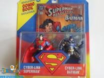 DC Cyber-Link Superman & Cyber-Link Batman actiefiguren