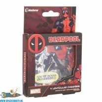 Deadpool 4 lenticular Coasters