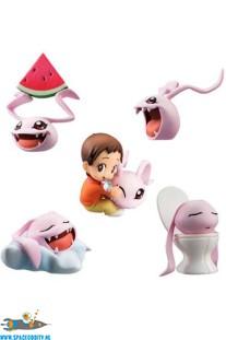 Digimon Adventure trading figuren 5-pack coro-colle!