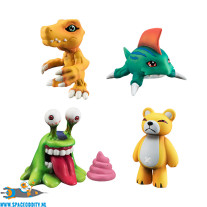 Digimon Capsule Collection 1.0 set van 4 figuurtjes