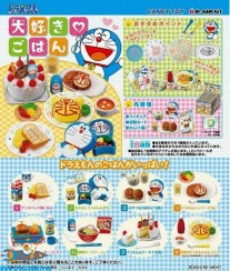 Doraemon Re-Ment I Love Meals miniatuur blind box