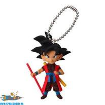 Dragon Ball mascot keychain UDM 21 Goku Xeno