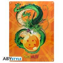 Dragon Ball metal plate Shenron
