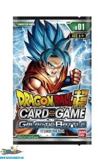 Dragon Ball Super card game Galactic Battle booster