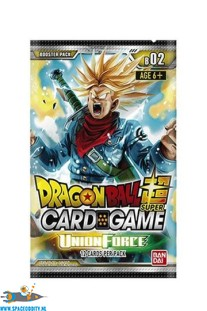 Dragon Ball Super card game Union Force booster