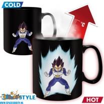 Dragon Ball Z beker/mok heat change Vegeta