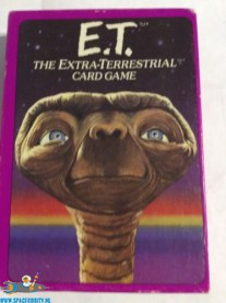 E.T. vintage card game