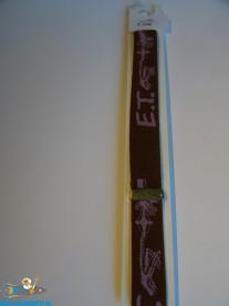 E.T. vintage Lee riem uit de jaren 80 (bruin)