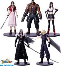 Final Fantasy VII trading arts figuren set van 5