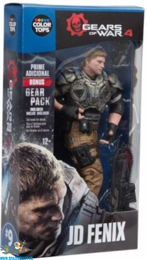Gears of War 4 color tops JD Fenix actiefiguur