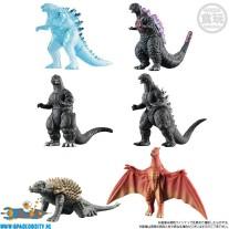 Godzilla Shingeki Taizen vol. 2 trading figuren set van 6