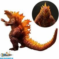 Godzilla S.H.MonsterArts Burning Godzilla actiefiguur : doos heeft deukje aan de voorzijde !!