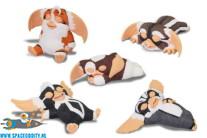 Gremlins 2 Oyasumi Mogwai gashapon set van 5 figuurtjes