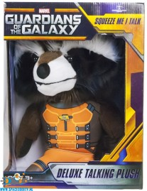 Guardians of the Galaxy talking plush Rocket Raccoon