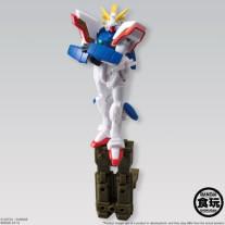 Gundam Assault Kingdom 24 Shining Gundam figuur