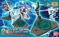 Gundam Build Custom 034 Diver Gear Gunpla Display Base