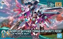 Gundam Build Divers 021 Gundam 00 Sky HWS (trans-am infinity mode)