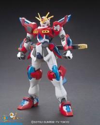 Gundam Build Fighters Try 043 Kamiki Burning Gundam
