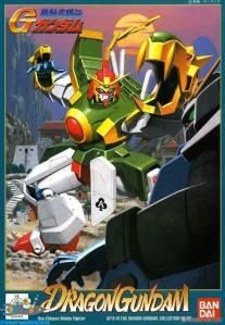 Gundam Dragon Gundam 1/144 schaal