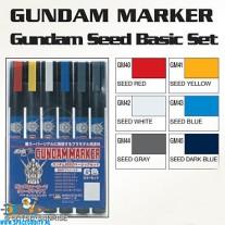 Gundam Marker GMS-109 Gundam Seed basic set