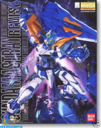 Gundam Seed Gundam Astray Blue Frame Second Revise 1/100 MG