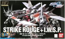 Gundam Seed MSV 01 Strike Rouge + I.W.S.P.