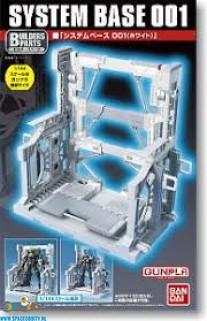 Gundam System Base 001 white