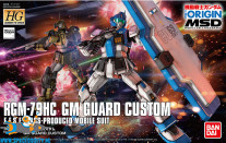 Gundam The Origin MSD 022 RGM-79HC GM Guard Custom