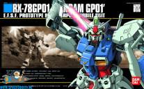 Gundam Universal Century 013 RX-78 GP01 Gundam GP01