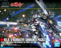 Gundam Universal Century 218 RX-9/A Narrative Gundam A-Packs