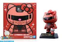 Gundam X Hello Kitty Chogokin Char's Zaku II color figuur