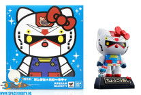 ​Gundam X Hello Kitty Chogokin Gundam color figuur