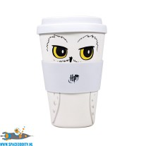 Harry Potter bamboe travel mug Hedwig