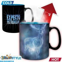 Harry Potter beker / mok heat change Expecto Patronum