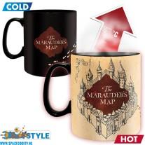 Harry Potter beker/mok heat change Marauder's Map