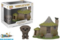 Harry Potter Pop! Hagrid's hut & Fang vinyl figuur