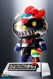 Hello Kitty Chogokin Mazinger Z color figuur
