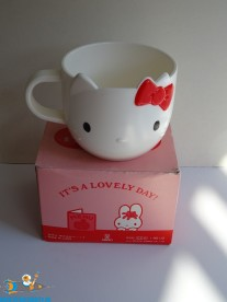 hello Kitty vintage 70s plastic cup