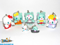 Hello Kitty Zombie Friends mascot keychain set