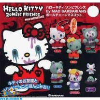 Hello Kitty Zombie Friends mascot keychain blind box